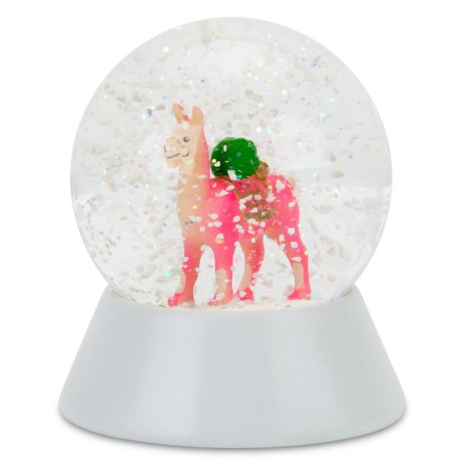 llama_snowglobe